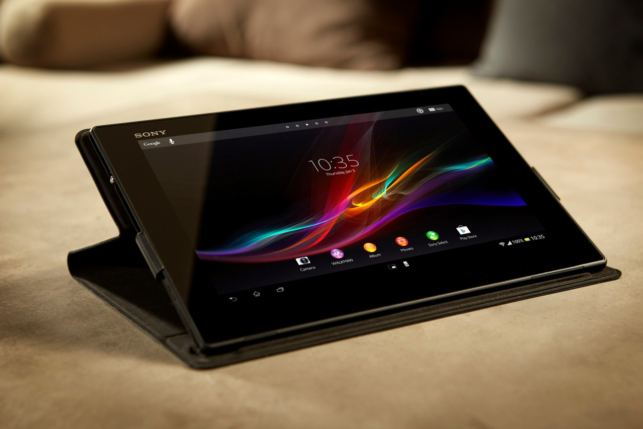Sony launches xperia tablet z world s slimmest 10 inch for Tablet hotels dubai
